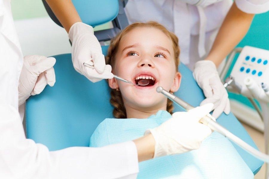 Dantų gydymas vaikams