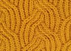 Geltoni siūlai mezgimui