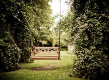 sūpynės sode